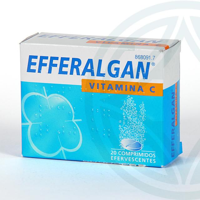 Efferalgan Vitamina C 20 comprimidos efervescentes