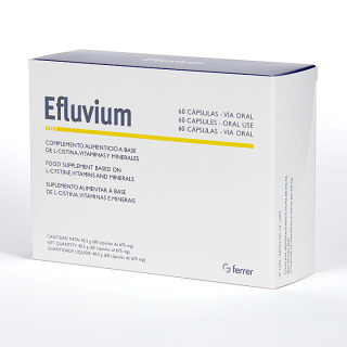 Efluvium 60 Cápsulas anticaída