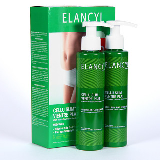 Elancyl Klorane Cellu Slim Vientre Plano 125 + 125 ml Duplo