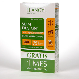 Elancyl Slim Desing 60 Cápsulas Reductoras Pack Triplo