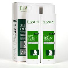 Elancyl Klorane Slim Desing Anticelulítico Noche 2x200ml Pack Duplo