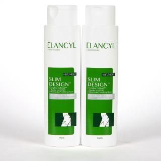 Elancyl Slim Desing Anticelulítico Noche 2x200ml Pack Duplo