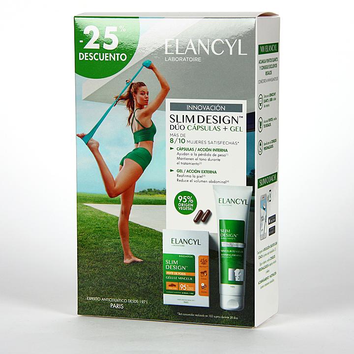 Elancyl Klorane Slim Desing Reductor Tensor + Cápsulas Reductoras 25% Dto