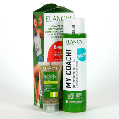 Elancyl My Coach Cuidado Anticelulítico 200 ml + Regalo Gel exfoliante 30 ml + banda de resistencia
