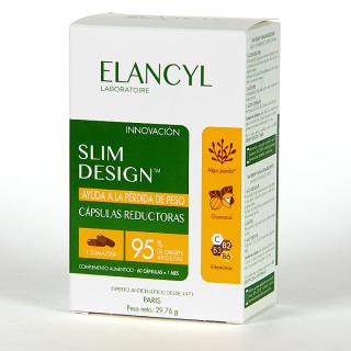 Elancyl Klorane Slim Desing 60 cápsulas Reductoras