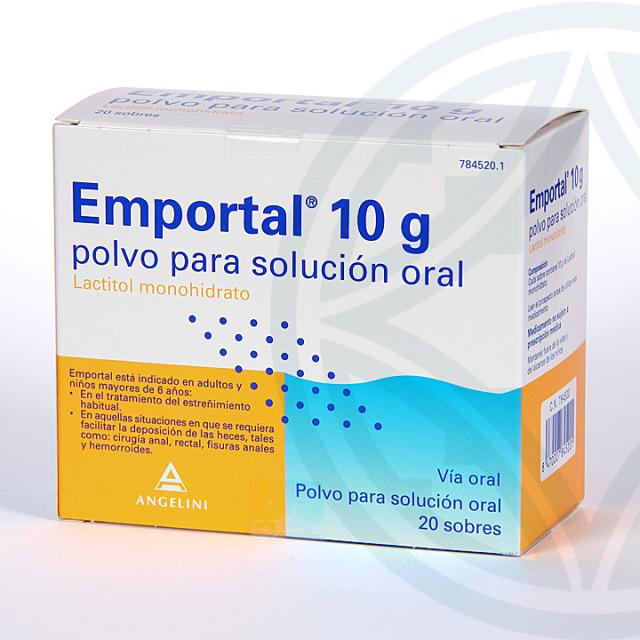 Emportal 10 g 20 sobres para solución oral