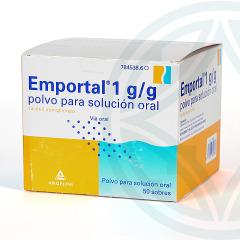Emportal 10 g 50 sobres para solución oral