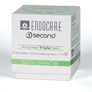 Endocare 1 Second 4 Ampollas Triple Flash