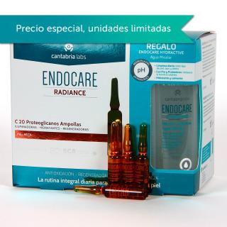 Endocare C20 Proteoglicanos 30 Ampollas + Agua Micelar 100 ml Regalo