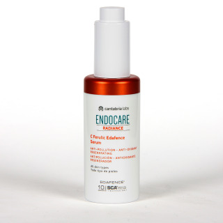 Pack Endocare Radiance C Ferulic Edafence Serum 30 ml + Ampollas One Second + Agua Micelar + Neceser de Regalo