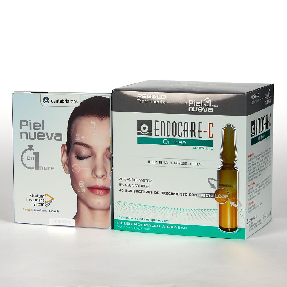 Endocare C Oil free 30 Ampollas + Pack piel Nueva