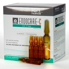Endocare-C Oil Free 30 Ampollas + Pack piel Nueva