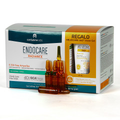 Endocare Radiance C Oil Free 30 Ampollas + Heliocare Water gel 15 ml regalo