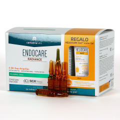 Endocare Radiance C Oil Free 30 Ampollas + Regalo Heliocare 360 Water gel 15 ml