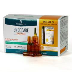 Endocare  Radiance C Proteoglicanos Oil free 30 Ampollas + Heliocare water gel 15 ml regalo