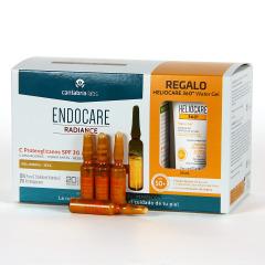 Endocare Radiance C Proteoglicanos SPF 30 30 Ampollas + Regalo Heliocare Water gel 15 ml