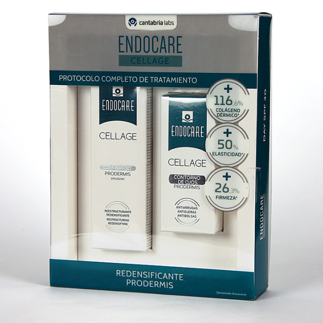 Endocare Cellage Day SPF 30 Prodermis + Contorno de Ojos 15 ml Pack