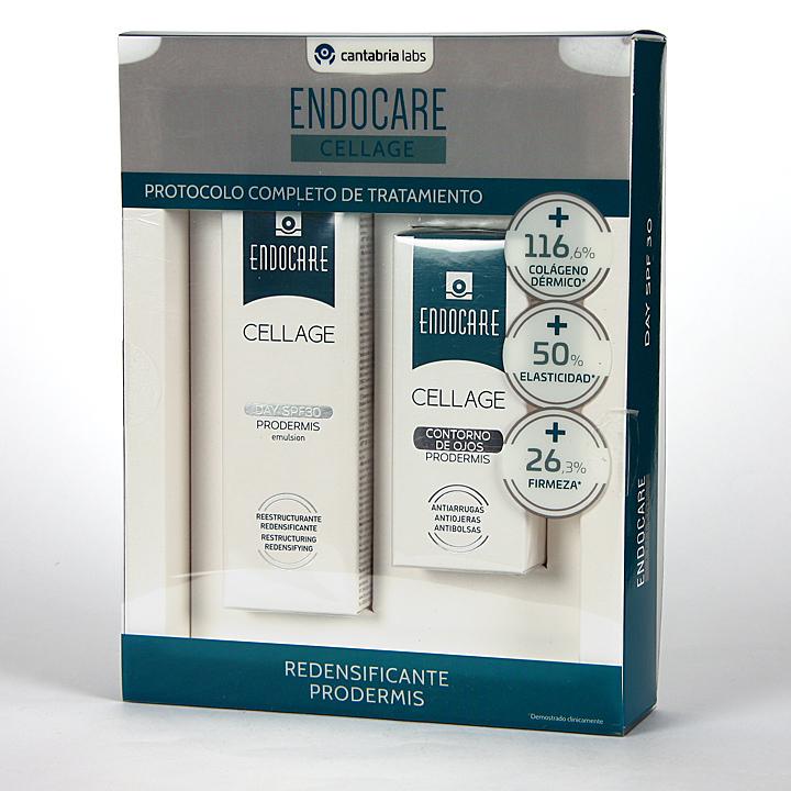 Endocare Cellage Day SPF 30 Prodermis + Contorno de Ojos 15 ml Pack