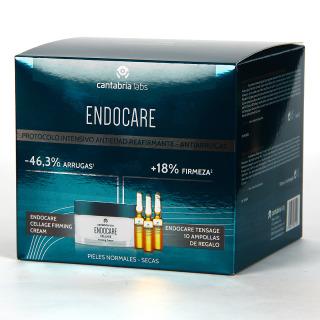 Endocare Cellage Firming Crema + 10 Ampollas Tensage + Neceser Pack Regalo