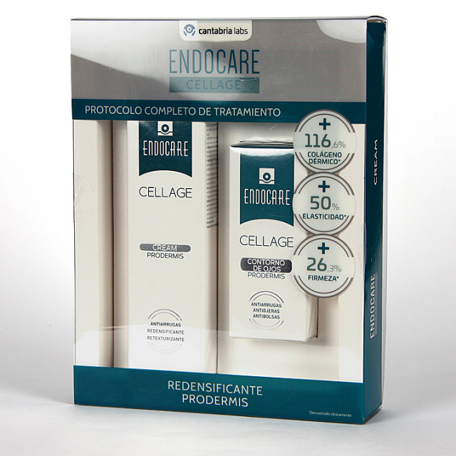 Endocare Cellage Prodermis Crema 50 ml + Contorno de ojos 15 ml Pack