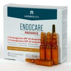 Endocare Radiance C Proteoglicanos SPF 30 10 Ampollas