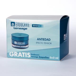 Endocare Tensage Crema 50 ml Pack + 3 Endocare Tensage Ampollas Regalo