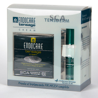 Endocare Tensage Crema 50 ml + Endocare Tensage Serum 15 ml Gratis Pack