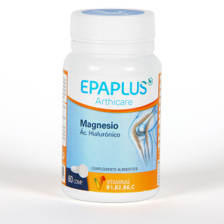 Epaplus Arthicare Magnesio + Hialurónico 60 comprimidos