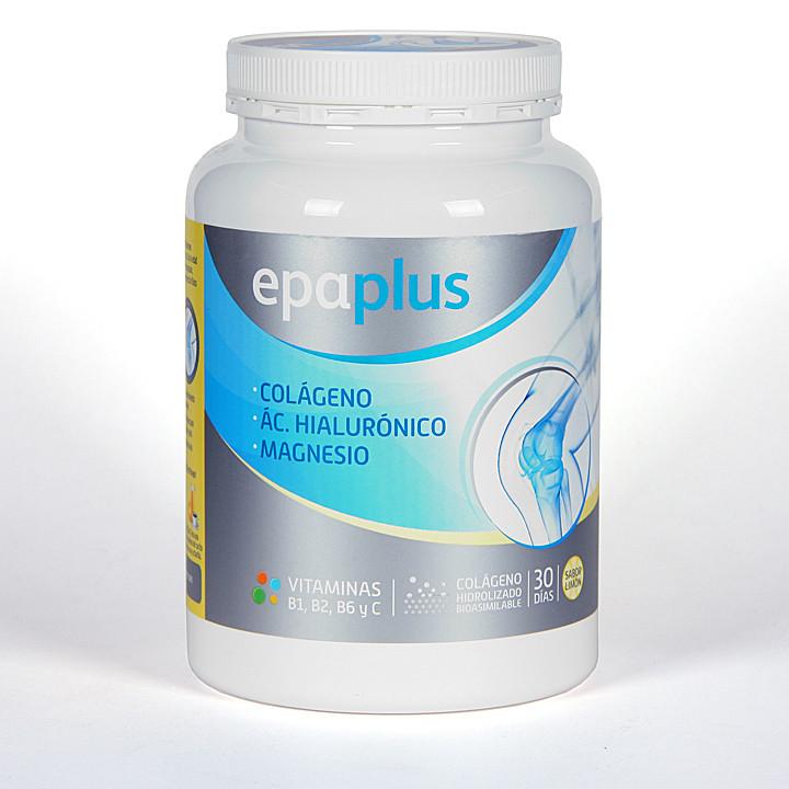 Epaplus Colágeno + Hialurónico + Magnesio polvo Sabor Limón 332 g