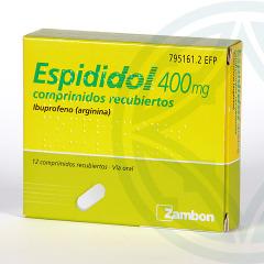 Espididol 12 comprimidos recubiertos