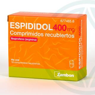 Espididol 18 comprimidos recubiertos