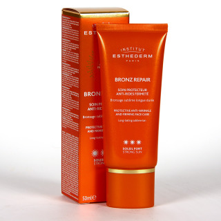 Esthederm Bronz Repair Crema Facial Antiarrugas Sol Fuerte 50ml