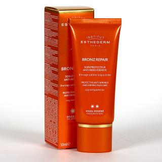 Esthederm Bronz Repair Crema Facial Antiarrugas Sol Moderado 50 ml