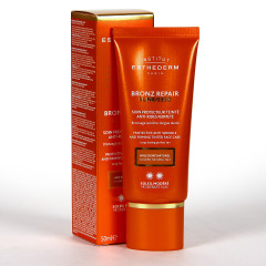 Esthederm Bronz Repair Sunkissed Crema Color Antiarrugas Sol Moderado 50ml