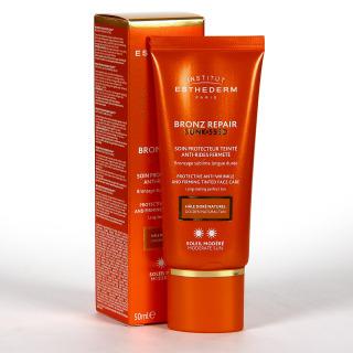 Esthederm Bronz Repair Sunkissed Crema Color Antiarrugas Sol Moderado 50ml
