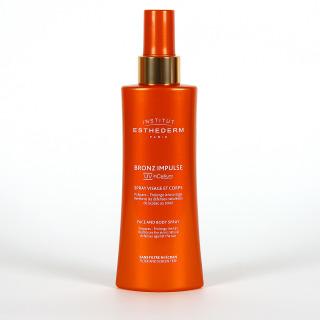 Esthederm Bronze impulse Spray Preparador del Bronceado cara y cuerpo 150 ml
