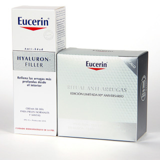 Eucerin Hyaluron-filler pieles mixtas + Regalo ritual antiarrugas