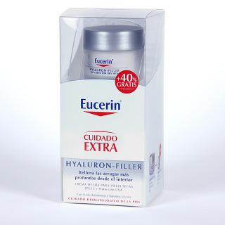 Eucerin Hyaluron-filler Crema de día pieles secas 50 ml + 40% gratis