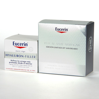 Eucerin Hyaluron-filler pieles secas+ Regalo ritual antiarrugas