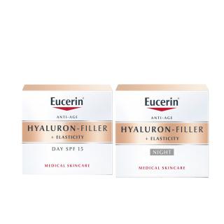 Eucerin Hyaluron Filler + Elasticity Crema de día + Crema de noche Pack