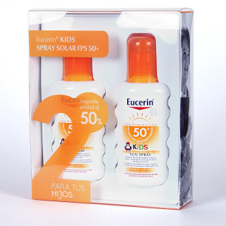 Eucerin Kids Spray Solar FPS 50+ Pack Duplo