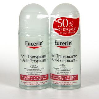 Eucerin pH5 Desodorante antitranspirante roll-on duplo