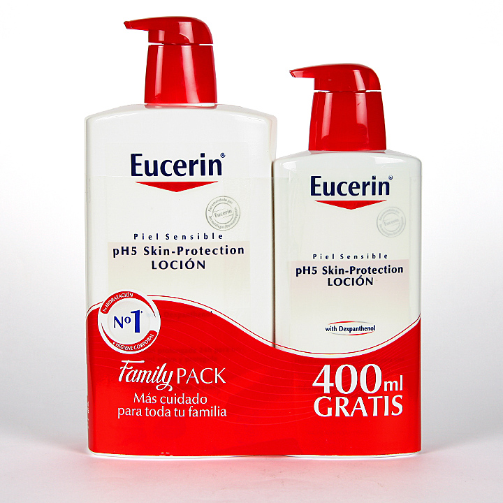 Eucerin pH5 Loción 1000 ml + 400 ml Gratis Pack Ahorro