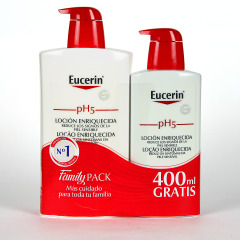 Eucerin pH5 Loción Enriquecida 1000 ml + 400 ml gratis Pack Familiar