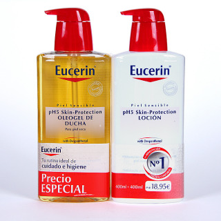 Eucerin pH5 Oleogel de Ducha + Loción Pack Promoción