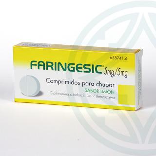 Faringesic 20 comprimidos para chupar