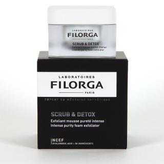 Filorga Scrub & Detox espuma exfoliante 50 ml