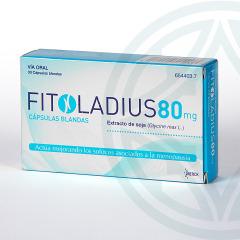 Fitoladius 80 mg 30 cápsulas