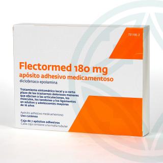Flectormed 180 mg 7 apósitos adhesivos medicamentosos