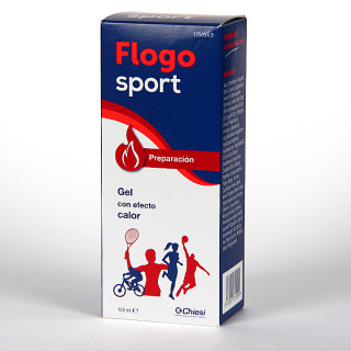 Flogosport Preparación Gel con Efecto Calor 100 ml